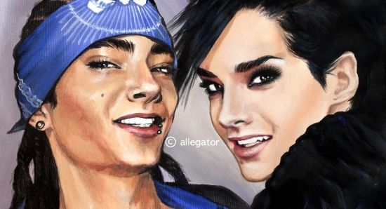 Bill Kaulitz by allegator
